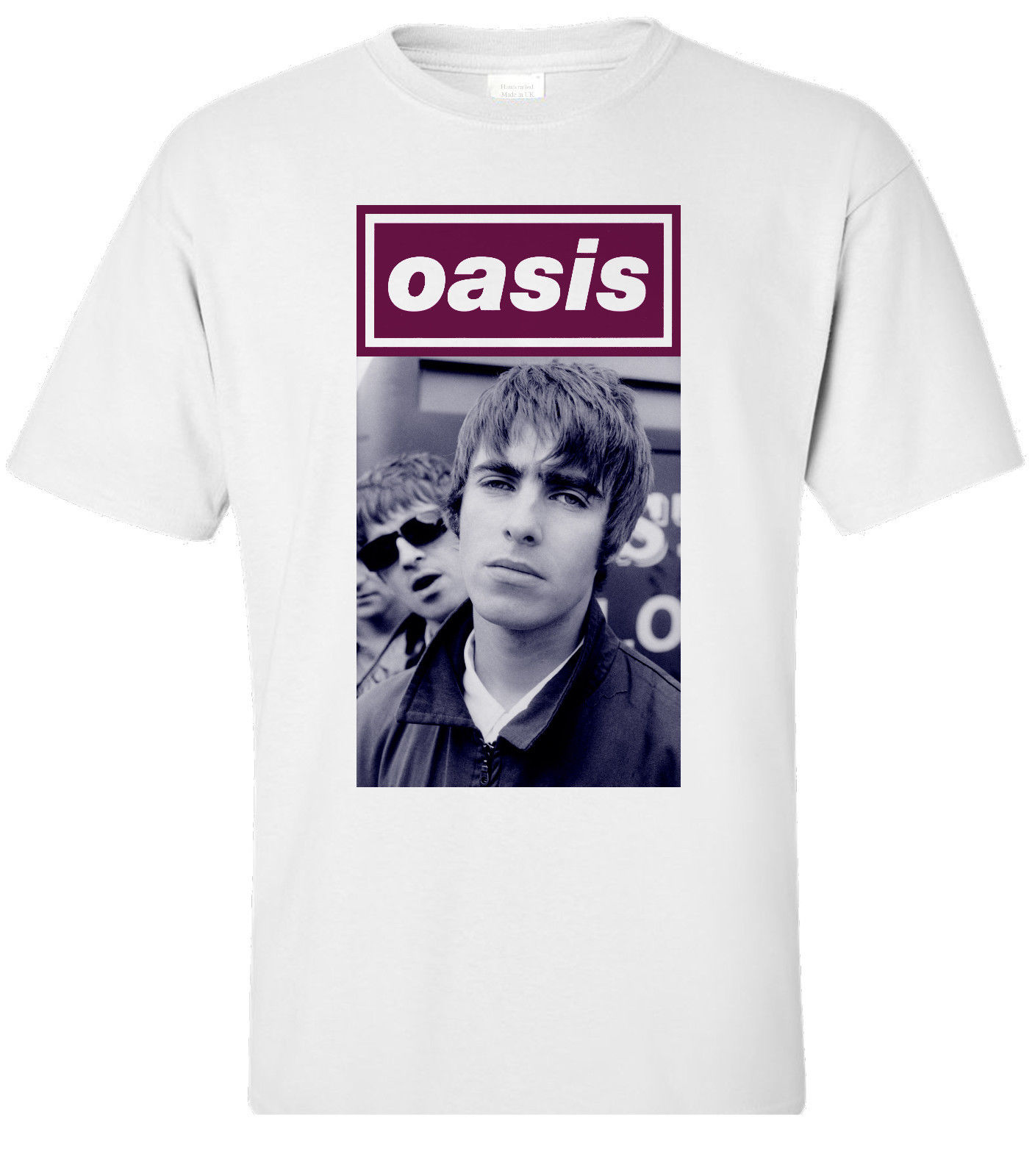 OASIS Band TShirt Gallaghers NEW Tshirt [all Sizes] Buzz Era. Britpop Men Tee Shirt Tops Short Sleeve Cotton Fitness T-Shirts