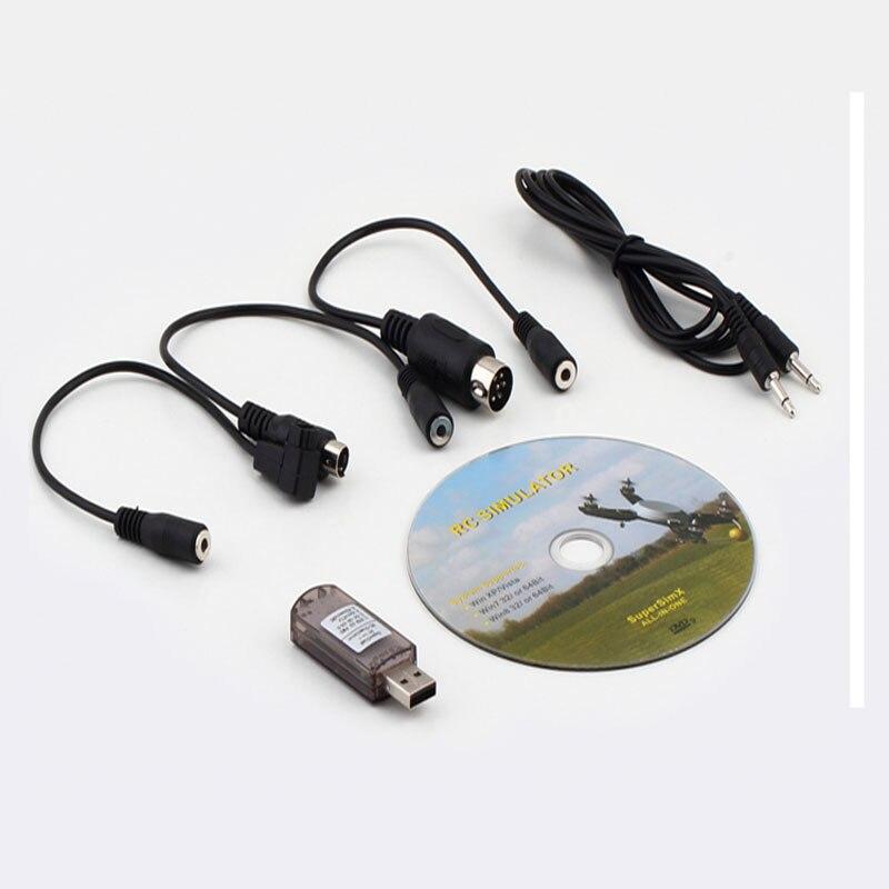 Best seller di Prezzi di Fabbrica Nuovo Tutto in Flight Simulator Cavo USB Dongle per Rc Auto Aereo Mar all'ingrosso S10