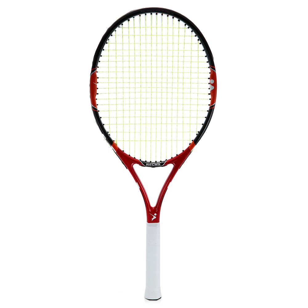 High Quality 1Pc New Carbon Tennis Racket Indoor Outdoor Practice Training Tennis Racquet Training Sport Rackets  With Cover Bag