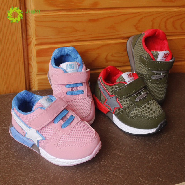 JRQIOT 2017 new children sneakers baby shoes breathable running shoes children toddler shoes net shoes 1-2-3 years old