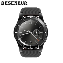 2017 New Beseneur G8 Smart Watch with Heart Rate Monitor Bluetooth WristWatch SIM Card Smartwatch for Android ios Phones