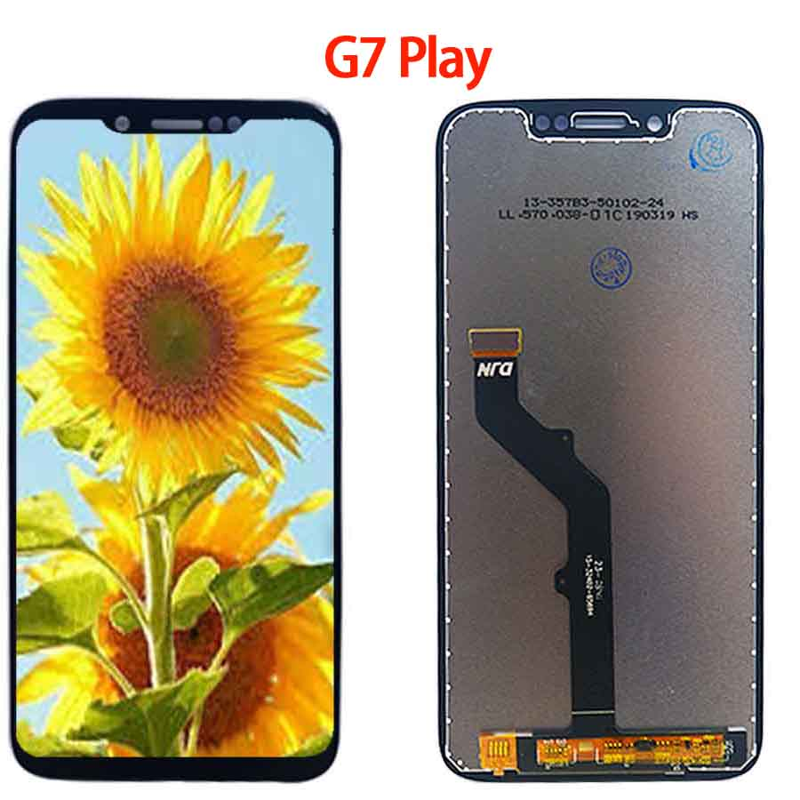 Original For Motorola Moto G7 XT1962 LCD G7 Play Display Touch Screen Sensor Panel Digiziter Assembly New For Moto G7 Power LCD in Mobile Phone LCD Screens from Cellphones Telecommunications