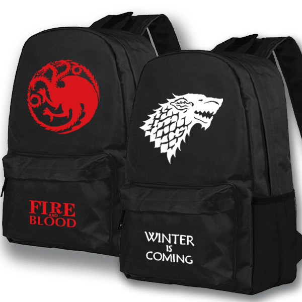 2017 New Game of Thrones Backpack Middle School Student Bag Boobkag Travel Shoulder Backpack Men Women Leisure time Backpacks new gravity falls backpack casual backpacks teenagers school bag men women s student school bags travel shoulder bag laptop bags