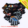 2016 Fashion 12PCS/LOT CuteThermal Children Winter Cartoon images Gloves or Mittens Free Size Free Shipping