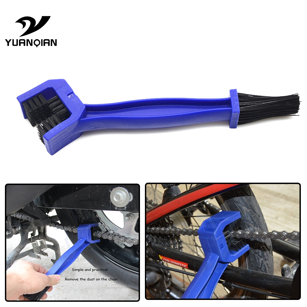Motorcycles Bike Bicycle Chain Clean Brake Brush Cleaning Gear Remover Cleaner For Yamaha FZ1 FZ6 FZ-07 FZ8 FZ-09 FZ-10 FZS1000 кофры komine