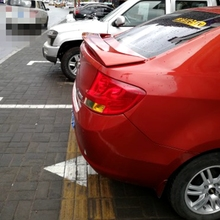 Для Chevrolet Парус 2010 2011 2012 2013 задний багажник надрезаемая подкладка, abs Материал грунтовка Цвет для хвостовой части автомобиля декоративное крыло