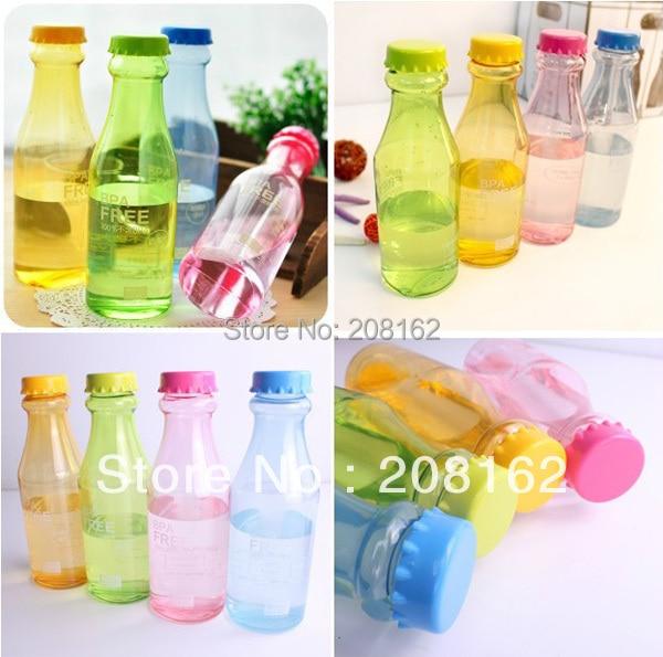 <font><b>Portable</b></font> Unbreakable Sports <font><b>Water</b></font> Bottles <font><b>Sealed</b></font> Cute Leakproof <font><b>Plastic</b></font> <font><b>Drink</b></font> <font><b>Cups</b></font> Glass 650ml
