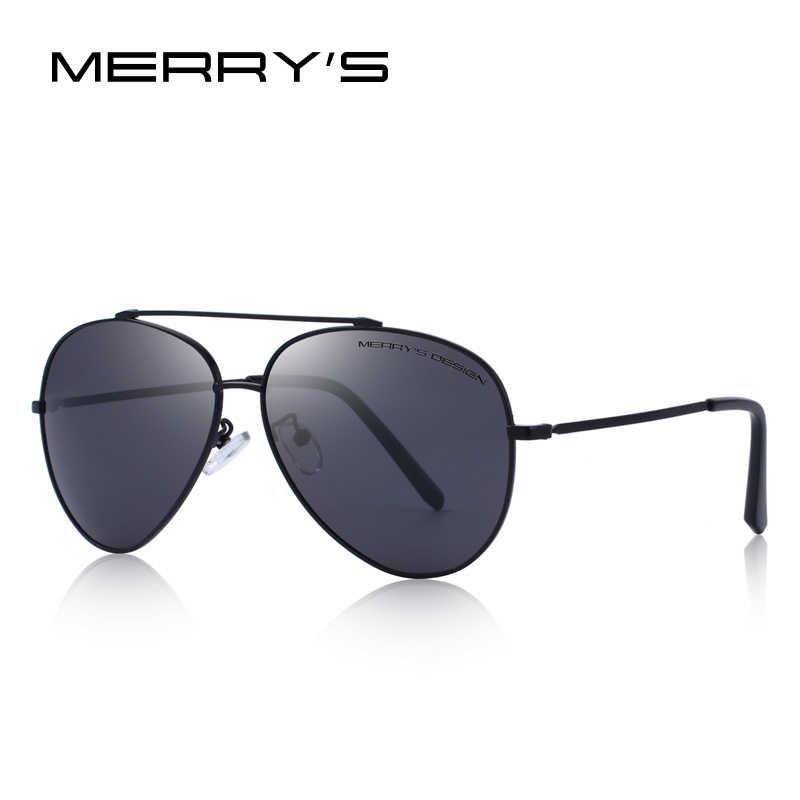 4bce249dd0d4 ... MERRYS DESIGN Men Classic Pilot Polarized Sunglasses For Driving UV400  Protection S8805 ...