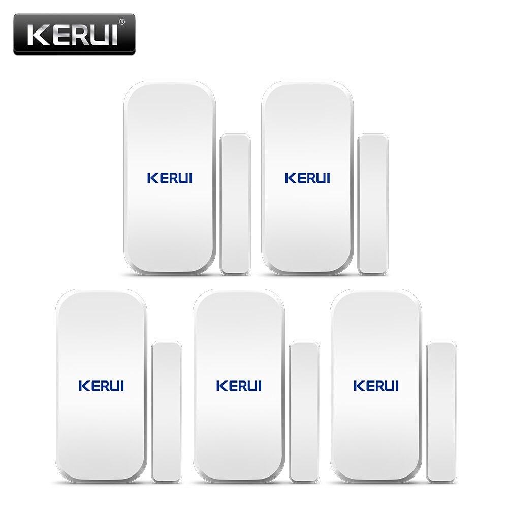 Original KERUI D025 5 ps Sem Fio Porta Janela Magnet Sensor Detector Para KERUI Casa Sistema de Alarme Sem Fio