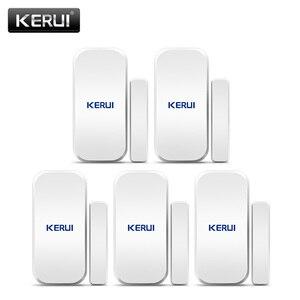 Image 1 - Original KERUI D025 5ps Wireless Window Door Magnet Sensor Detector For KERUI Home Wireless Alarm System