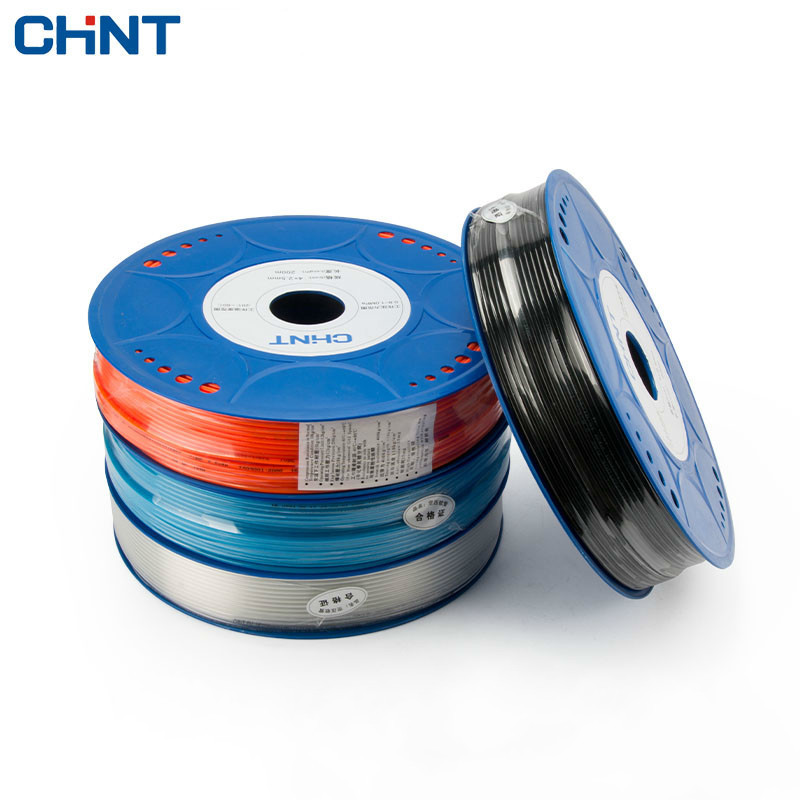 CHINT High Pressure Pu Fittings Pneumatic Press Trachea Hose Air Pump Tube Transparent Pipe new 3kw hydraulic crimping hose pipe press machine 8 sets molds 6 41mm 380v 220v optional hose pipe press shrink tube machine