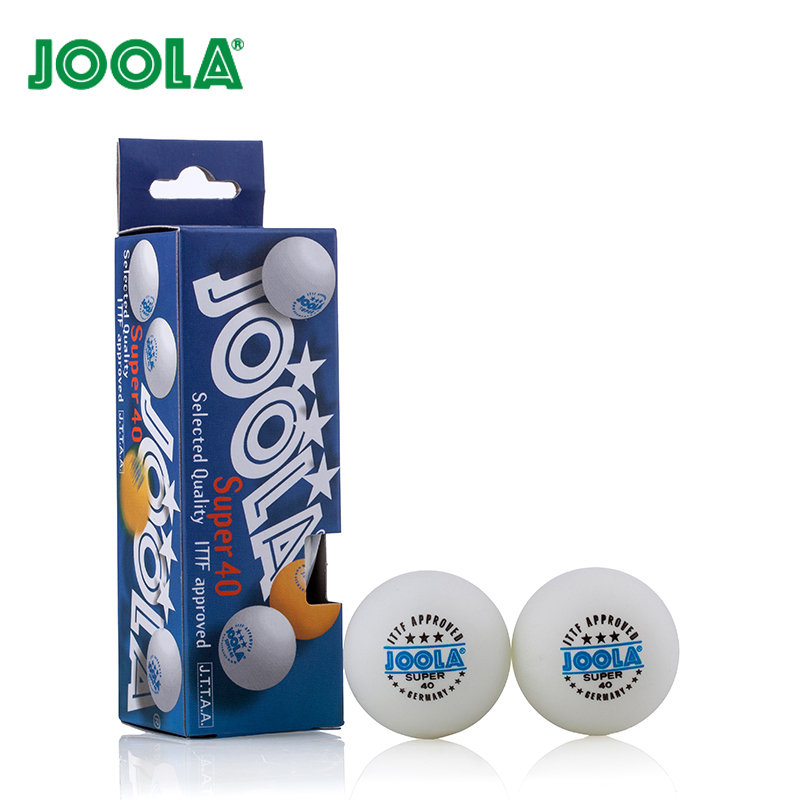 12 Balls/lot Joola 3 Star 40mm Selected Quality Table Tennis Ball White Ping Pong Balls