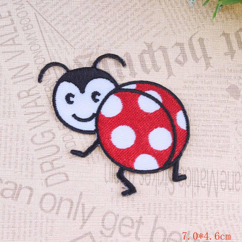 Prajna аниме значок для одежды рюкзак пчелы ПАТЧ КОШКА гладить на или шить ткань стикеры вышитые аппликации DIY Вышивание Label F