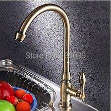 Современный один холодная кухня кран затычка антикварный гальваника шарнир ванная умывальник умывальник вода затычка, Torneira