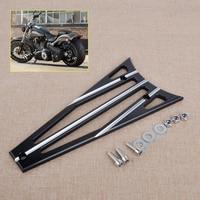 3 Columns Billet Deep Cut Frame Grill Fit For Harley Electra Glide Road King Road Glide