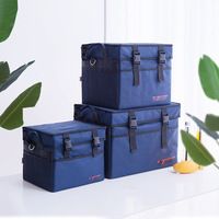 Large Capacity Insulated Cooler Bag Thicken Ice Pack Thermal Box Travel Picnic Food Drink Beer Fresh Keeping Containers Supplies