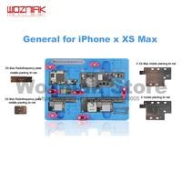 Wozniak K20 iPhone X/XS/XS 용 다기능 마더 보드 수리 설비 MAX layered 고정 유지 보수 클램프 플랫폼