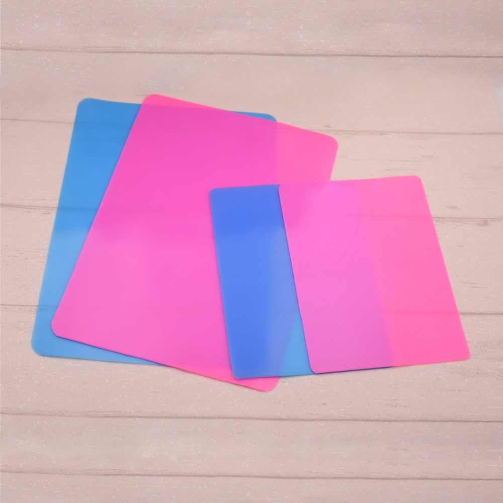 SNASAN Silicone Mold Jewelry Making Handmade Tool Table Plate Mat Resin Silicone Plate
