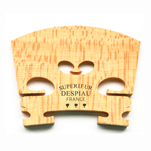 Violin Violino-Accessories Bridge-Maple Wood-Material Despiau for 3-Tree/three-Tree Made-In-France
