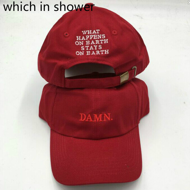 Which in shower wine red kendrick lamar damn cap embroidery DAMN.  unstructured dad hat bone fedf4faf4c1