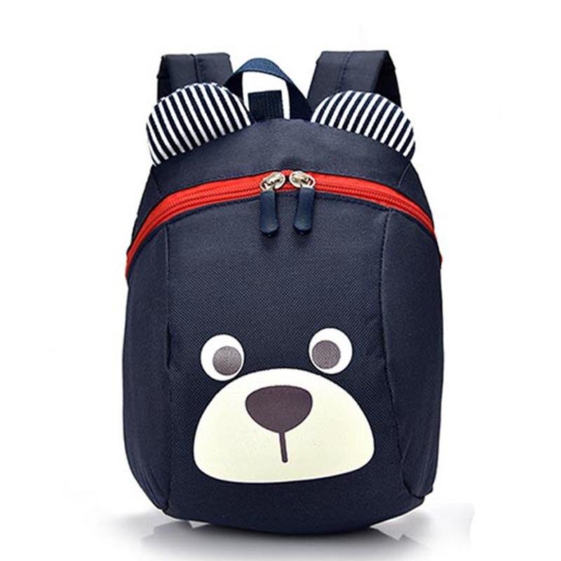 e2827f635a056 1-5 yıl Anaokulu bebek erkek kız sırt çantası schoolbag bebek ayı anti-kayıp  sırt çantası çanta yeni moda