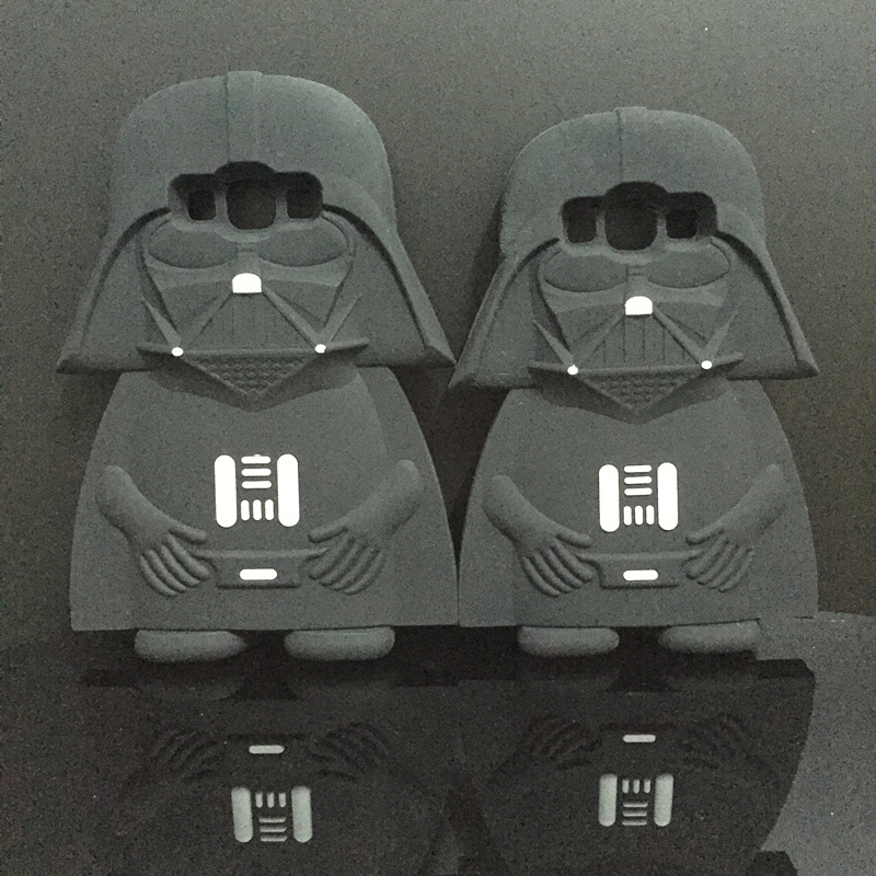 3D Soft Silicone Star Wars Darth Vader Back Cover Case Samsung Galaxy A5 E5 J5/A7 E7 J7 phone bag  -  International Fashion Goods Stores store