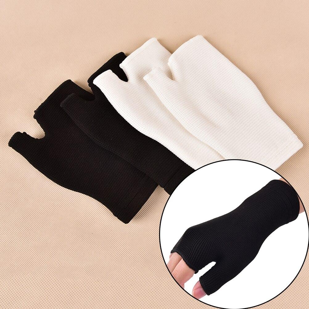 1Pair Wrist Support Bandage Removable Hand Brace Finger Splint Carpal Protection Wrap Glove Elastic Palm Hand Wrist Health Care 3
