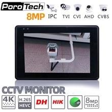 """IPC1800 플러스 4 """"IP 카메라 테스터 모니터 CCTV TVI CVBS 아날로그 비디오 테스트 PTZ 제어 터치 스크린 H.265 4K 8MP 1080P WIFI"""