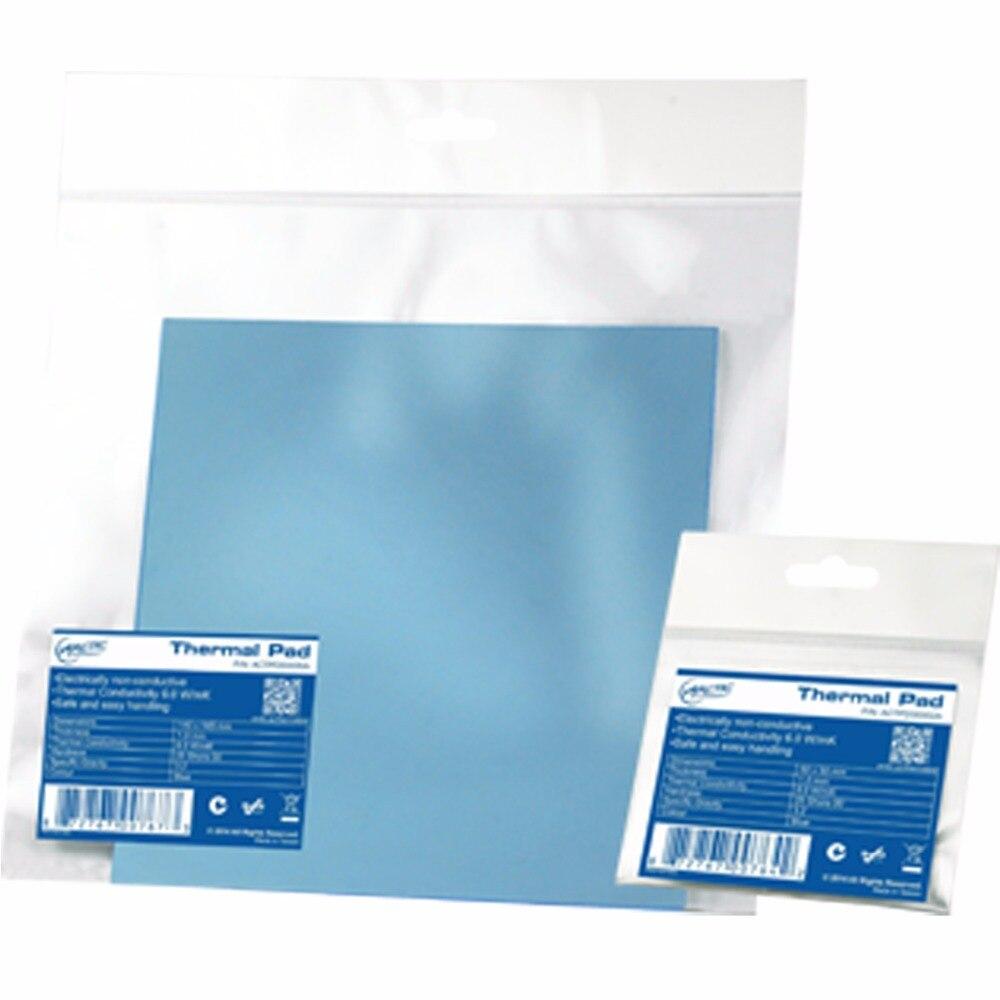 ARCTIC AC Thermische pad 6,0 W/mK 0,5mm 1,0mm 1,5mm Hohe Effiziente thermische leitfähigkeit Original authentischen arktischen Thermische pad