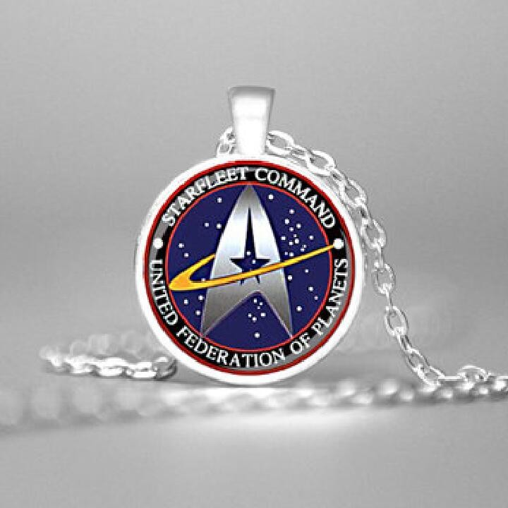 Star Trek Starfleet Command Pendant Necklace