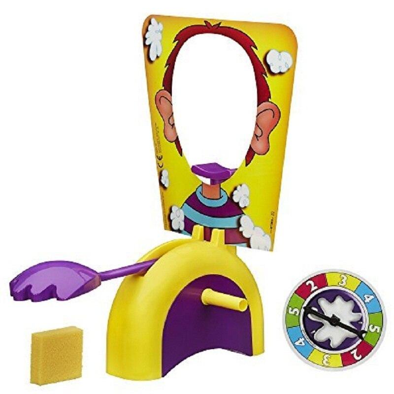 HEIßER! Pie Kuchen zu Gesicht Gags Praktische Witze Spaß Gadgets Familie Spiel Streich Witz Spielzeug Finger Spiel Spielzeug für Kinder Geschenk