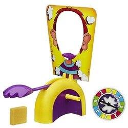 HOT! Torta de Bolo para Enfrentar Mordaças câmera escondida Gadgets Divertidos Jogo Da Família Prank Joke Toy Jogo Dedo Brinquedos para Crianças Presente