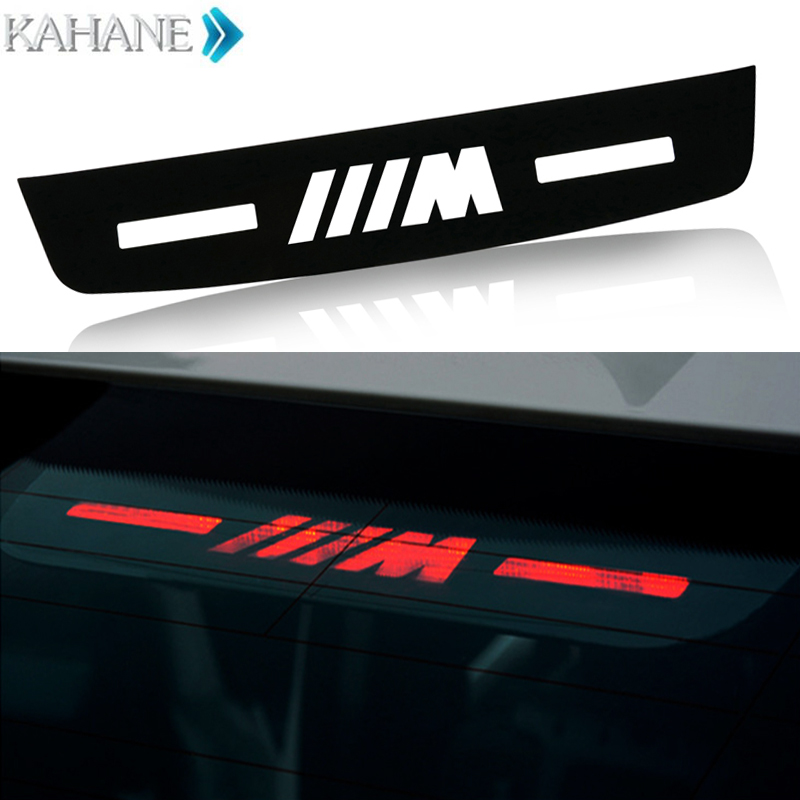 Car Brake light Sticker M logo Acrylic Brake Lights Decorative Cover for BMW M 3 7 5 series F10 F18 320 328 F30 F35 E90 E92 E93 stainless steel car lock pick for bmw 5 7 series