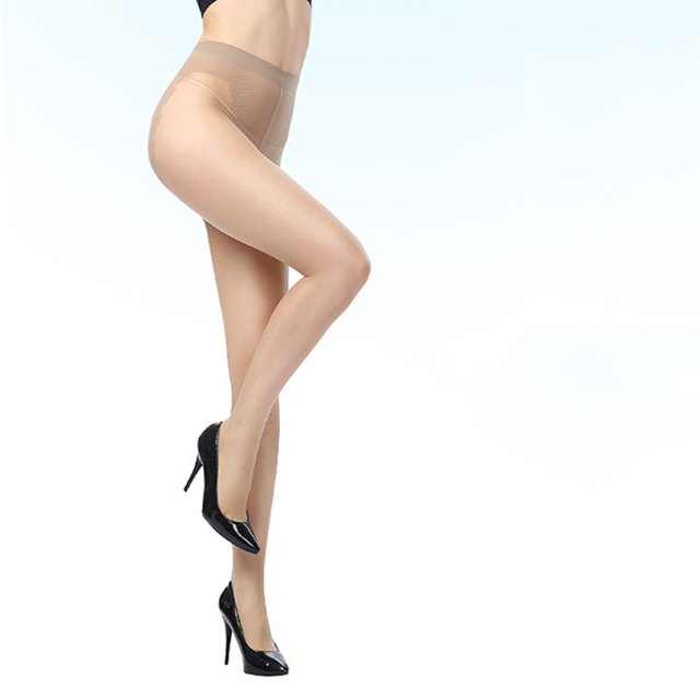 4 Colors Thin Stretchy Slim  Butterfly Fork High Hosiery Tights Pantyhose Sexy Nylon Spandex Lady Transparent  for woman