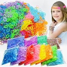 1800 шт резиновые ткацкие резинки diy игрушки для детей шнурки