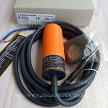 KI5002 Mới Điện Dung Tắc Cảm Biến M30 PNP KHÔNG Phạm vi Cảm Biến 15mm 10 36VDC Chất Lượng Cao