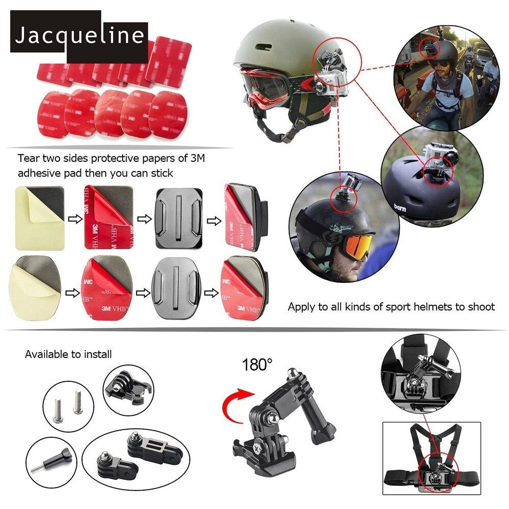 Jacqueline për Aksesorë Kuti Set Qese për Gopro HERO 6 5 3+ 4 - Kamera dhe foto - Foto 6
