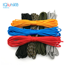 IQiuhike Multifunction Parachute 550 Popular Type III 7 Strand Paracord Cord Lanyard Mil Spec Core 100FT Camping Survival Tool
