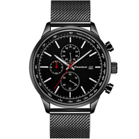2018 Chronograph Mens Watches Top Brand Luxury Ultra thin Dial Full Steel Men Watch Clock Men Fashion Simple Relogio Masculino