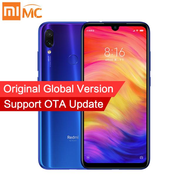 Global Version Xiaomi Redmi Note 7 4GB 128GB Snapdragon 660 48MP+13MP Dual Camera 6.3'' Full Screen 4000mAh 4G LTE Smartphone CE