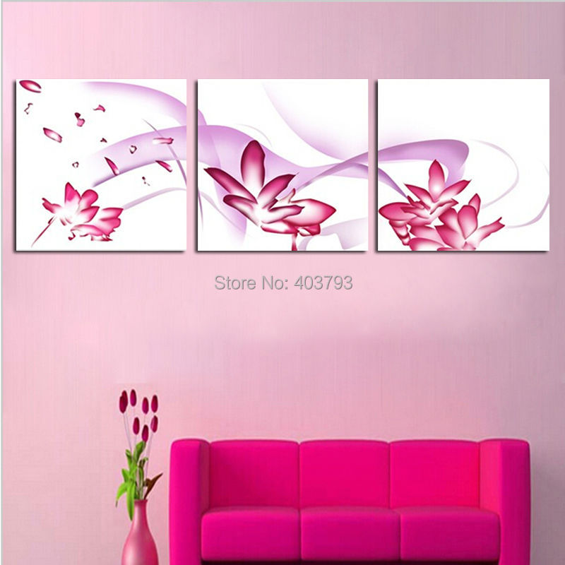 Hot Sale The Lotus Printed Painting Art Print On Canvas Oil Painting For Home Decor Wall Decor