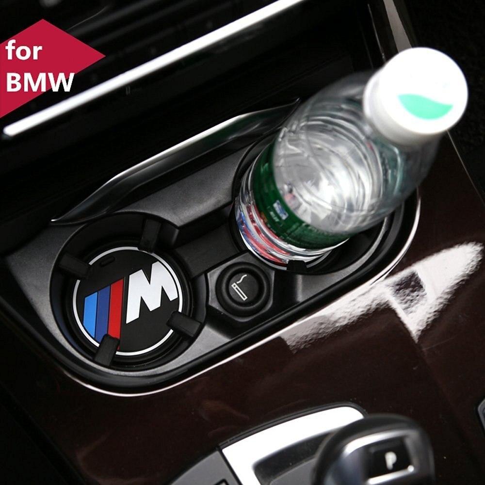 Cogeek 2pcs car interior accessories anti slip cup mat for bmw 1 3 5 7 series f30 f35 320li 316i x1 x3 x4 x5 x6