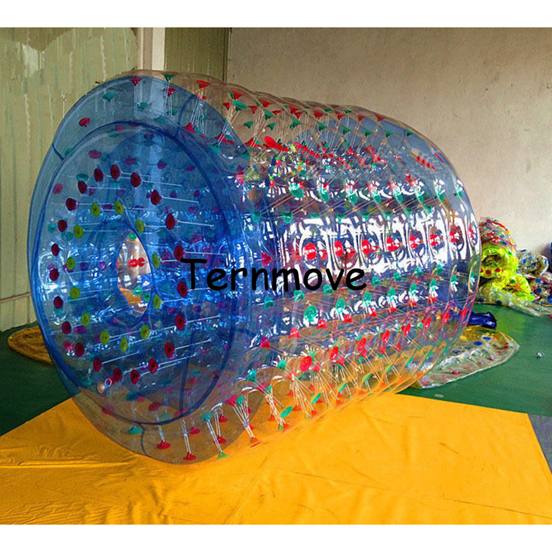 PVC Walk On Water Roller,Air Tight PVC Inflatable rollers,0.8mm pvc China Factory Cheap funny water rollers,Water Play Equipment wb006 free shipping funny water games inflatable water balls walk water inflatable roller ball summer water games