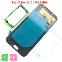 FIX2SAILING Super AMOLED For Samsung Galaxy J7 Pro 2017 J730 J730F LCD Display Touch Screen Assembly