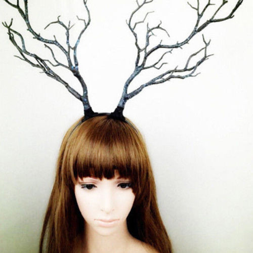 Aniwon 12PCS Christmas Headbands Stylish Creative Decorative Hair Hoops Head Hoops Party Favors for Kids