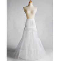 Abbille New White Bridal Gown Ball Prom Mermaid Petticoat Underskirt slips Women Underskirs 2017