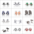 12 Styles Star Wars Cufflinks Silver Plated Vintage Jewelry Cuff Link French Shirts Cufflinks Wedding Gifts Cufflink For Men