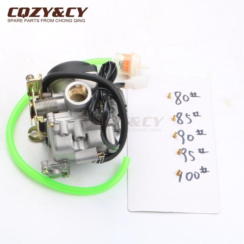 20mm Scooter Carburetor PD20J for SYM CVK Fiddle 2 Orbit 1 50 Symply 50cc 4 stroke
