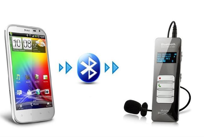 Prix pour 16 GB Mobile Sans Fil Bluetooth de Téléphone D'enregistrement Vocal Enregistreur Support MP3 Jouer