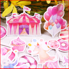 20 pcs Pink vintage personalized scrapbook Stickers scrapbooking material sticker happy planner decoration craft
